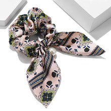 Load image into Gallery viewer, Women Hair Accessories for Baby Fashion Headband Fabric Cross Knotted Bow Chiffon Floral Hair Band Korea Headdress ladies Hoop