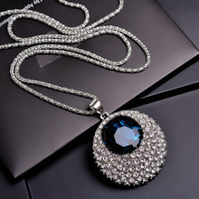 Load image into Gallery viewer, Long Necklaces & Pendants for Women Maxi Collier Femme Geometric Chain Fashion Necklace Statement Colar Accessories Jewelry 2019