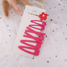 Load image into Gallery viewer, 1 Set Cute Princess Fruit Hairpins Children Kids Hair Clips Pins Barrette Accessories for women girl Hairgrip Headwear Hairclip