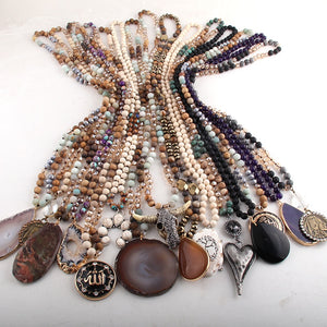 Wholesale 15pc Mix Color Necklace Fashion Jewelry Handmade Women necklaces
