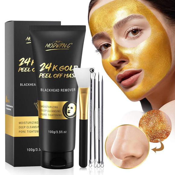 Gold Face Mask Peel Off Skin Care -beauty