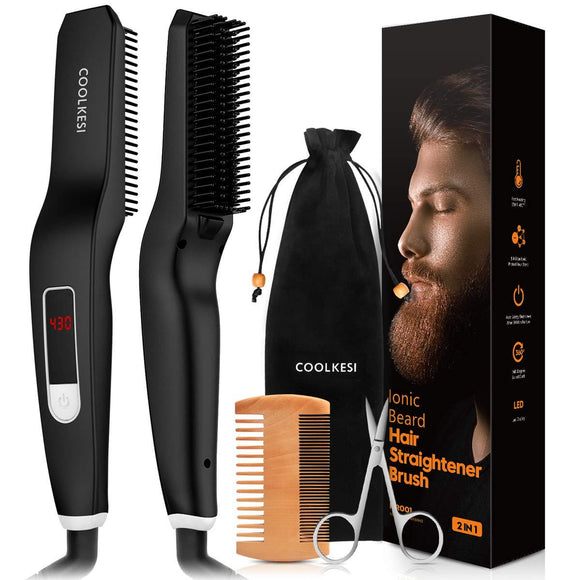 Beard Straightening Comb 3 In 1 -beauty