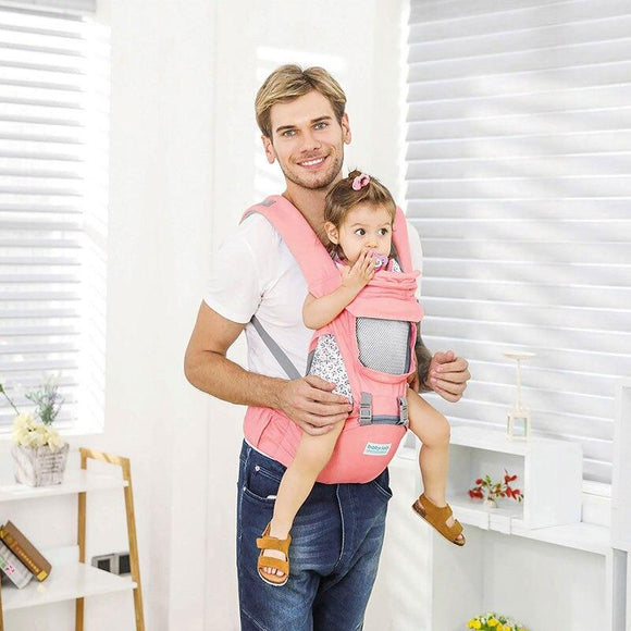 Baby Carrier With Hip Seat -baby