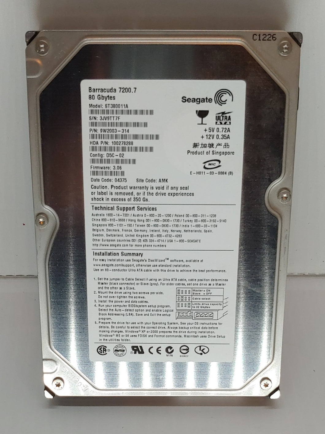 SEAGATE 2TB. HARDDRIVE STORAGE DEVICES
