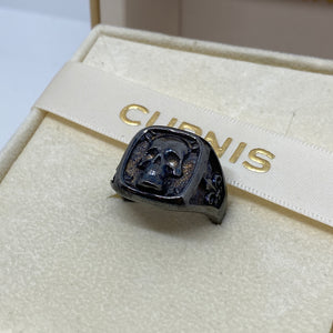 Anello teschio black