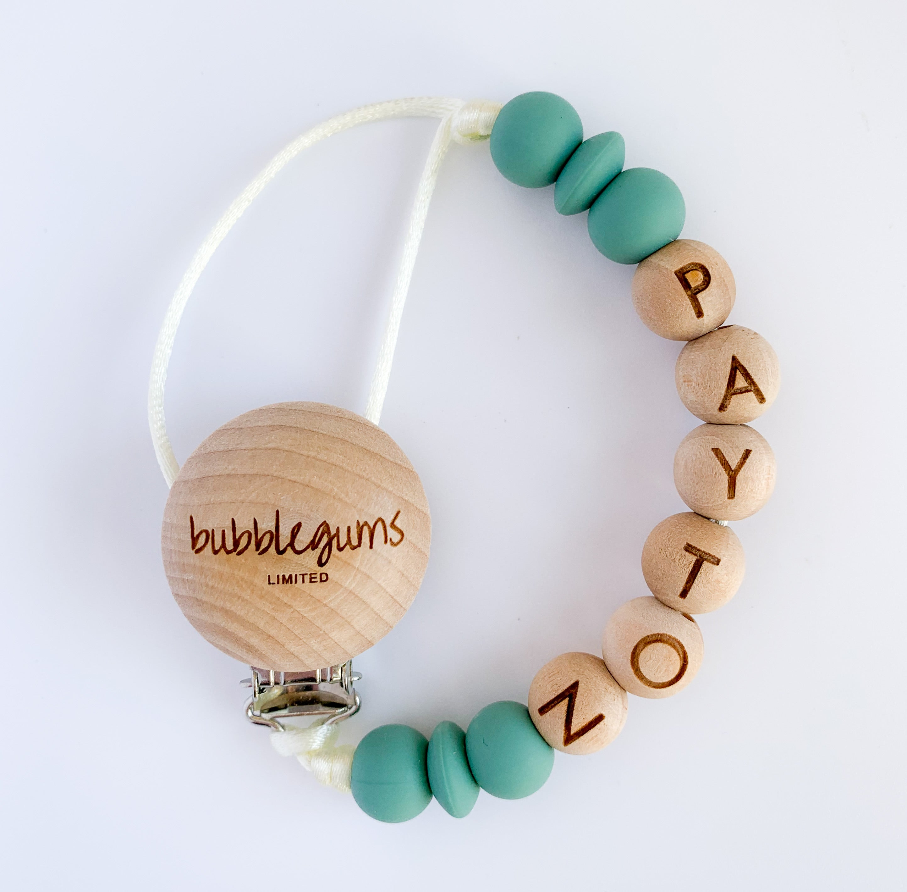 pacifier clip | PERSONALIZED • SS21 pallette
