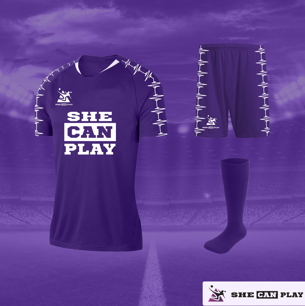 SCP Women's Debut Football Kit - SHE CAN PLAY