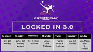 LOCKED IN 3.0 - SHE CAN PLAY