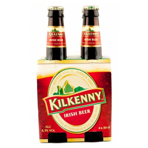 Kilkenny Irish Red 4-pack + Kilkenny Pint glass