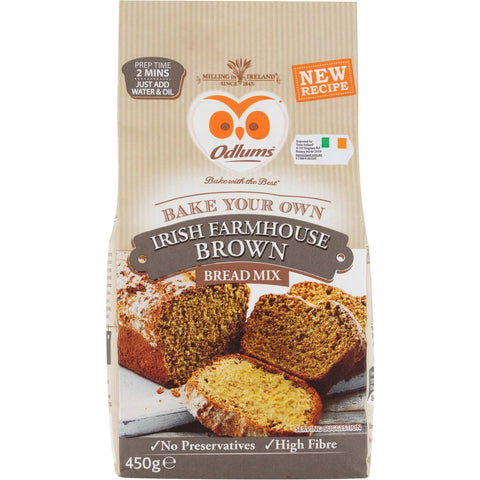 Odlum's Farmhouse brown bread mix (450g)