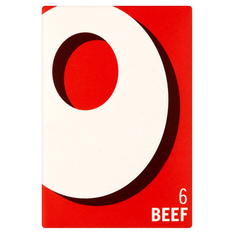 Oxo Beef Cubes (6)