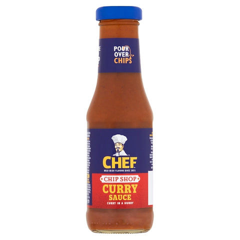Chef Chip Shop Curry Sauce bottle 325g