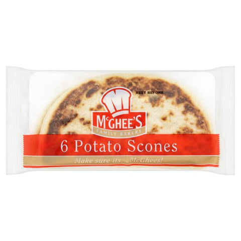 McGhees Potato Scones 6-pack (336gr)