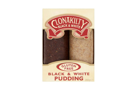 Clonakilty Glutenfree Black and White pudding duo (260gr)