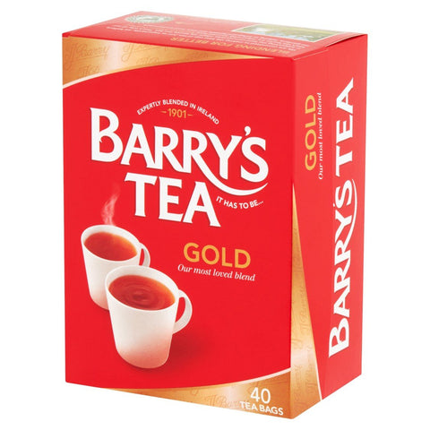 Barry's Tea. Gold, 40 teabags