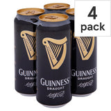 Guinness Draught cans 50cl + Guinness pint glass