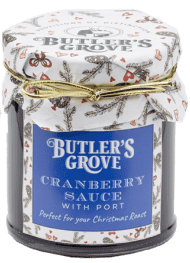 Butler's Grove Cranberry sauce with Port (227g)