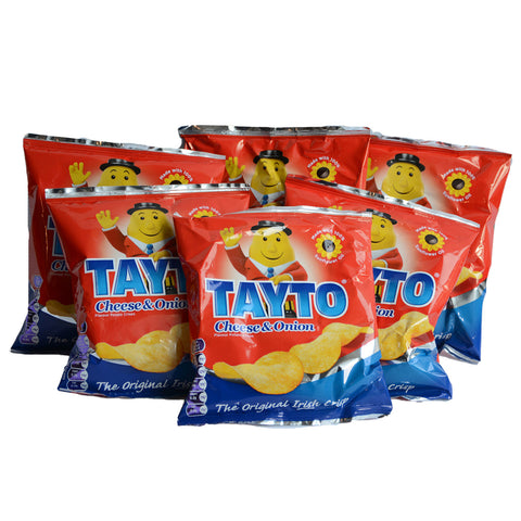 11x Tayto Cheese & Onion Crisps 35g