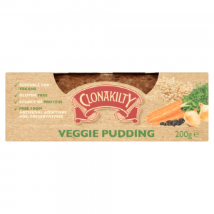 Clonakilty Vegetarian pudding (200gr)