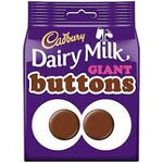 Cadbury Giant buttons (119g)