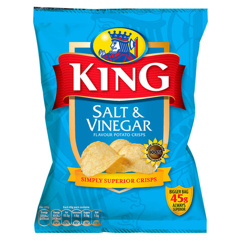 King crisps Salt & Vinegar