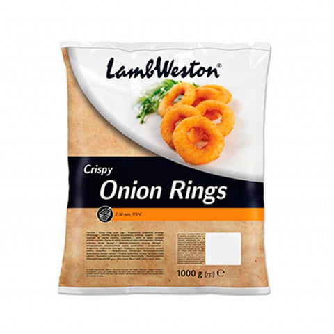 Lamb Weston Crispy Onion rings (1kg)