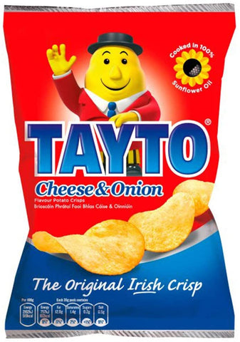 Tayto Cheese & Onion Crisps 35g