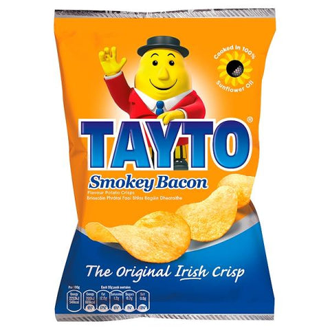 11x Tayto Smokey Bacon Crisps 35g