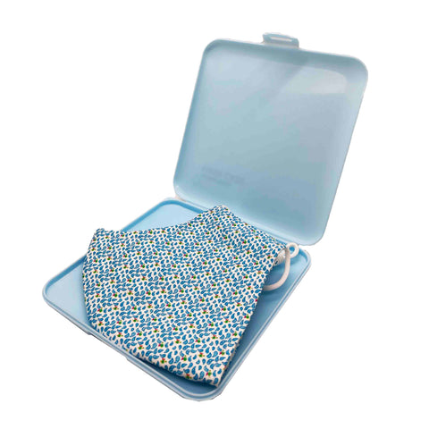 Protective Mask Storage Case - Blue