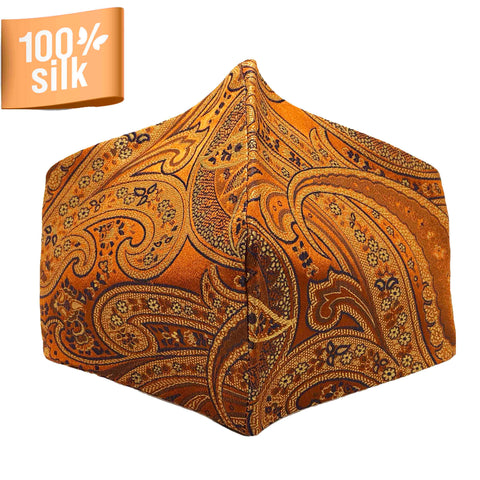 Rejoyce - 100% Silk Brocade Mask