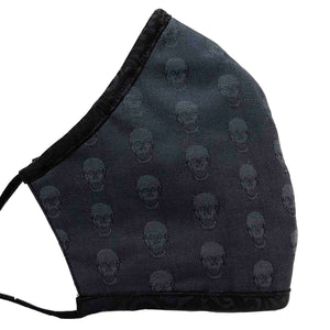 Men's 100% Cotton Triple Layer Adjustable Mask with Built-In Nose Wire & Filter Pocket - Gene