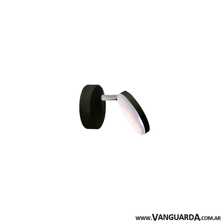 Aplique de Pared Moderno Nugal 1 Led Negro