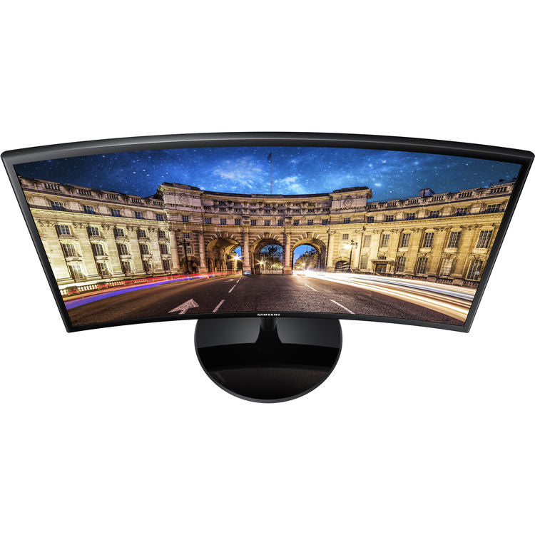 "Samsung 390 Series C24F390 24"" 16:9 Curved FreeSync LCD Monitor"