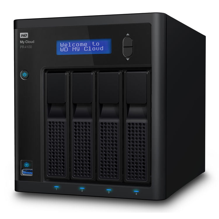 WD My Cloud PR4100 16TB 4-Bay NAS Server (4 x 4TB)