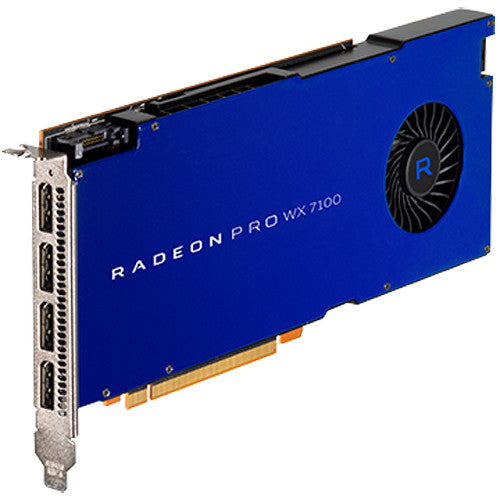 AMD Radeon Pro WX 7100 Graphics Card