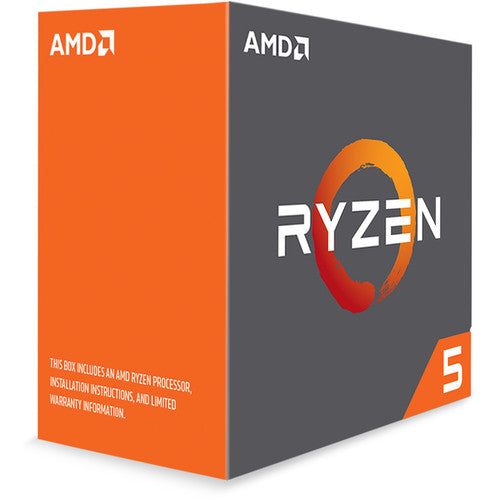 AMD Ryzen 5 1600X 3.6 GHz Six-Core AM4 Processor