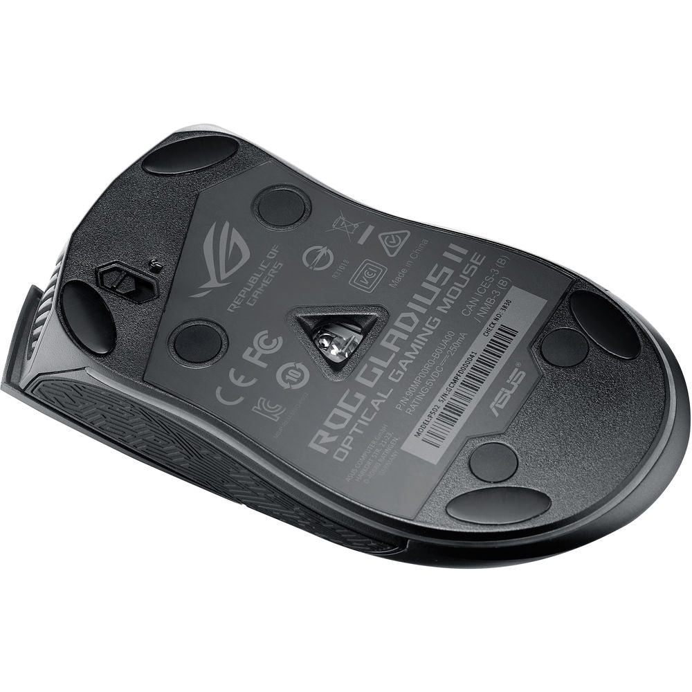 ASUS Republic of Gamers Gladius II Mouse (Black)