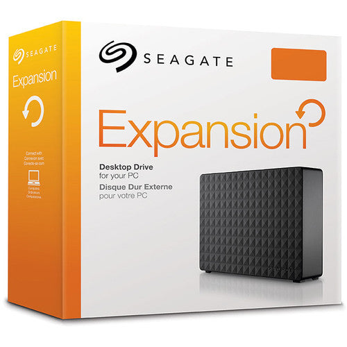 Seagate 6TB Expansion Desktop USB 3.0 External Hard Drive