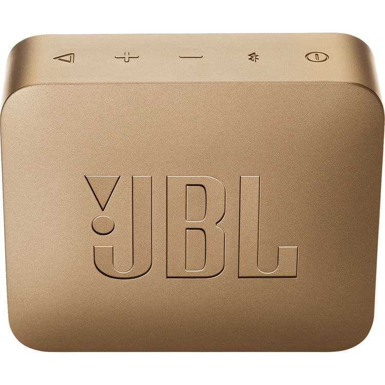 JBL GO 2 Portable Wireless Speaker (Pearl Champagne)