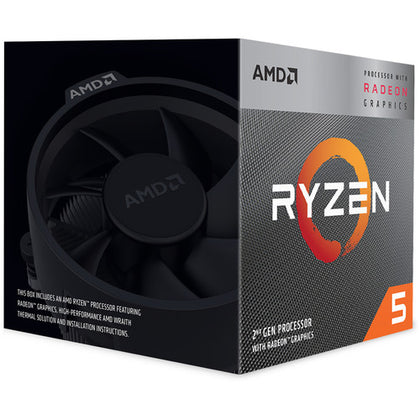 AMD Ryzen 5 3400G 3.7 GHz Quad-Core AM4 Processor