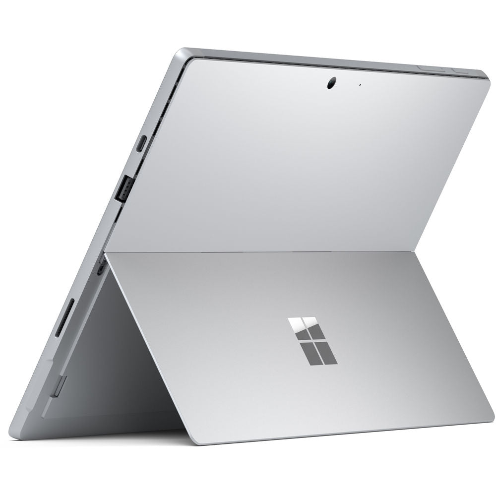"Microsoft 12.3"" Multi-Touch Surface Pro 7 Platinum Bundle with Black Surface Pro Type Cover"