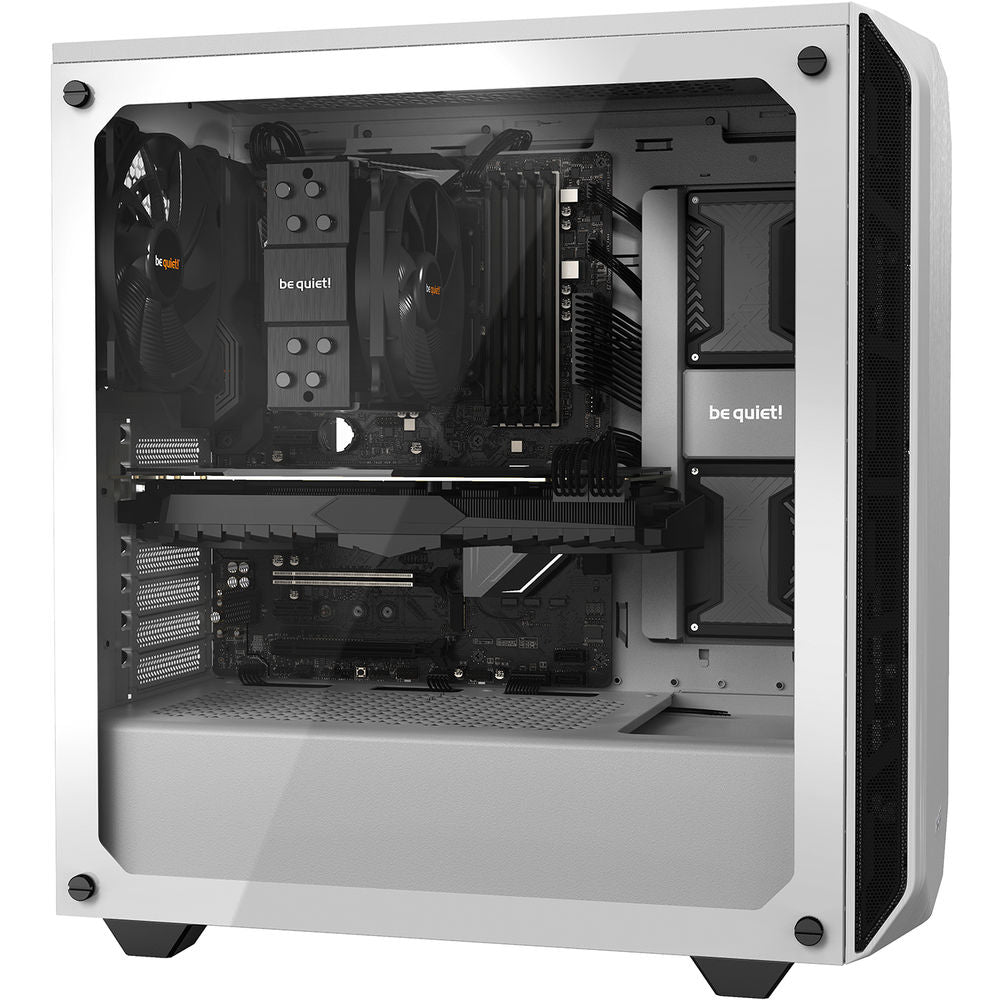 be quiet! Pure Base 500 Mid-Tower Case (Window, White)