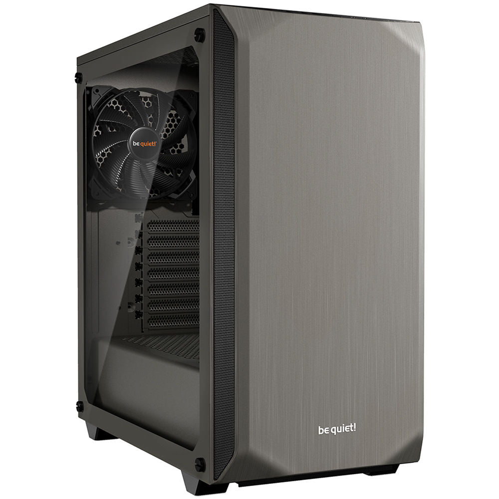 be quiet! Pure Base 500 Mid-Tower Case (Window, Metallic Gray)