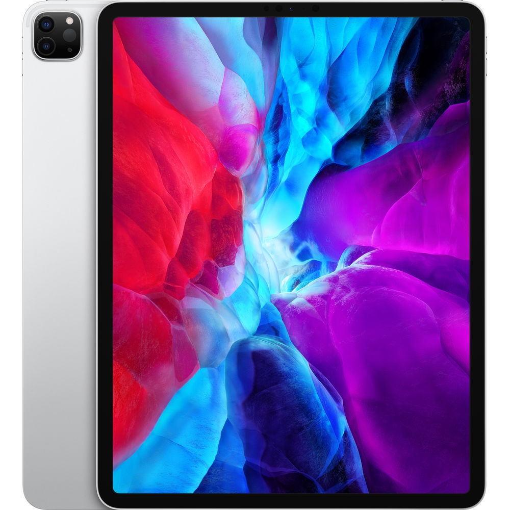 "Apple 12.9"" iPad Pro (Early 2020, 128GB, Wi-Fi + 4G LTE, Silver) 128GB"