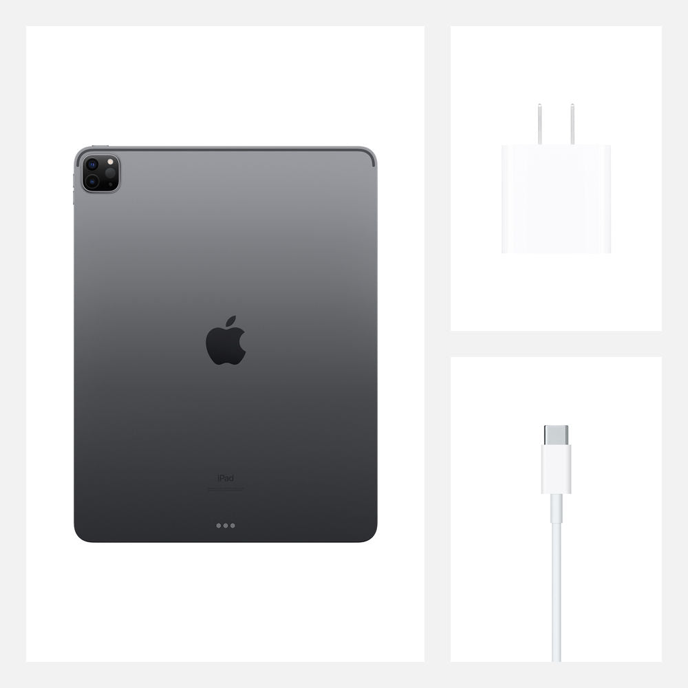 "Apple 12.9"" iPad Pro (Early 2020, 128GB, Wi-Fi + 4G LTE, Space Gray)"