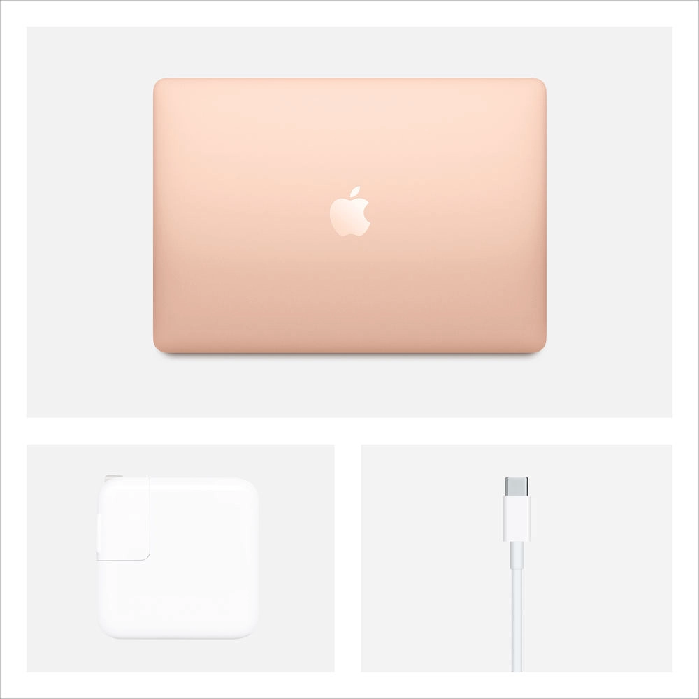 "Apple 13.3"" MacBook Air with Retina Display (Early 2020, Gold) i3 