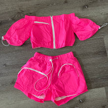Load image into Gallery viewer, Pink Haute Girl Shorts Set