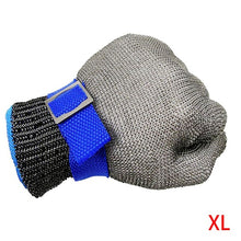 Load image into Gallery viewer, Anti-cut Gloves Safety Cut Proof Stab Resistant Stainless Steel Wire Metal Mesh Butcher Cut-Resistant Gloves