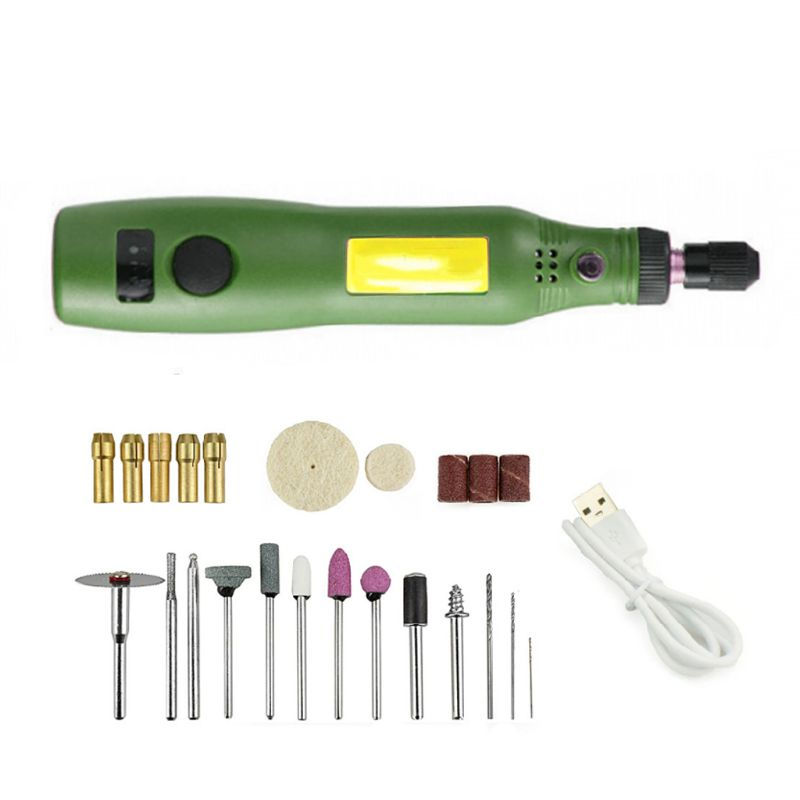 Charging Speed Mini Electric Grinder Nail Drill Polished Jade Nuclear Engraving Machine Hand-held Wood Micro Small Electric Dril