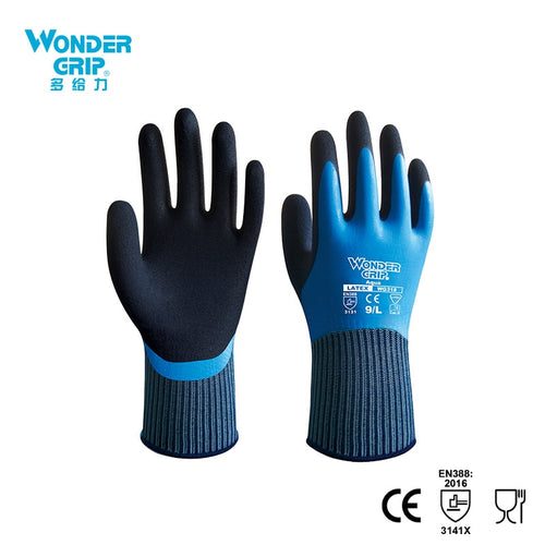 Wonder Grip Safety Work Gloves Safety Glove Fully Immersed Waterproof Gloves Cold-proof Waterproof Gloves